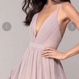 Dusty Rose (Pink) Bridesmaid Dress. Size M.